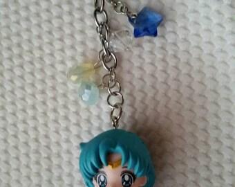 Sailor Mercury Ami keychain