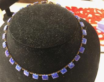 1920's Lapis Lazuli choker