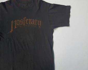 Vintage Horror 1979 Nosferatu The Vampyre Movie T Shirt Dracula Gothic Werner Herzog Max Schreck Bram Stoker