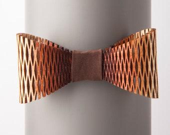 Archipelagos Brown Degrade Bow Tie