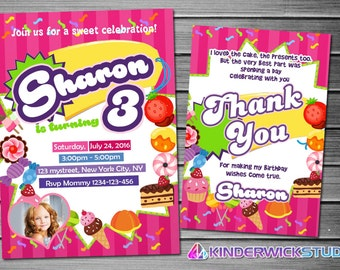 candies Invitation, sweets Birthday, candies Party, candies Invites, candies Printables, candies Printable Invite, candies Movie, sweets