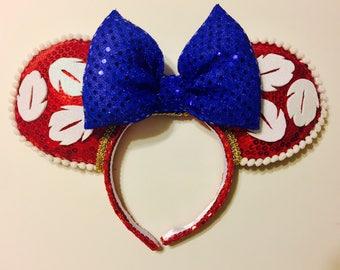 """Ready to Ship: Lilo & Stitch - """"Ohana"""" ears"""