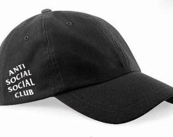 Anti social social club hat