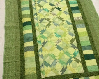 SImply Green Quilt