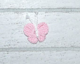 Butterfly - crochet - patch - application