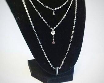 LifeMotiv Layered Charm Necklace