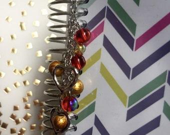 Planner Charm, Handbag/Purse charm, zipper pull charm.