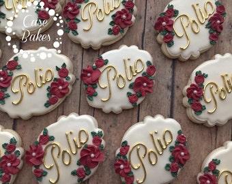 Wedding Favor Cookies - 1 dozen