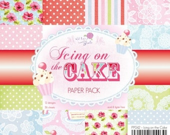 Icing on the cake paper pad 6x6