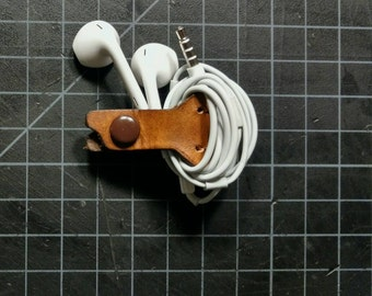 Headphone wrap/keeper