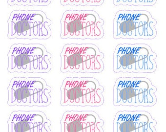 PHONE DOCTORS // Diary // Planner // Stickers