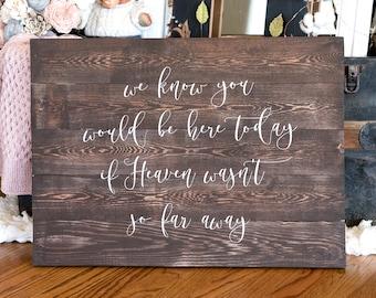 Wedding Heaven Sign