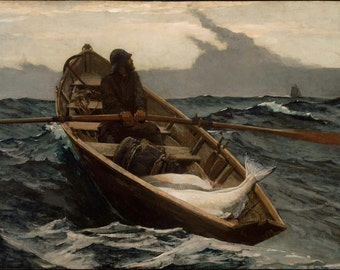 THE FOG WARNING by Winslow Homer  ~ Poster Print