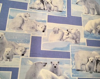 On the Wild Side Polar Bear -Blue