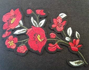 Iron-On Flower Patch Applique # 7C1465