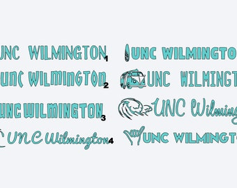 UNCW Decal (8 designs!)