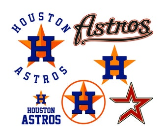 houston texans logo template - astros decal etsy