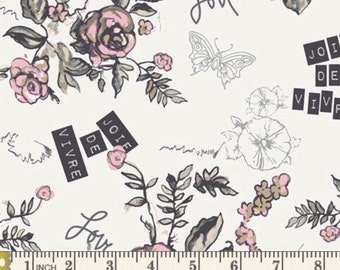 SALE!!!----Joie De Vivre art gallery cotton (not knit)