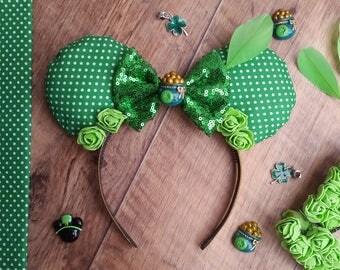 St. Patrick's Day Disney Ears