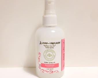 A-Poo-Thecary Toilet Spray,Before you go, Toilet spray, Poopourri, Poo spray, Air Freshener, Gift, Stocking Stuffer, Father's Day, Gag gift