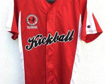 Official WAKA ( World Adult Kickball Association) Team Shirt