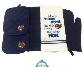 These Boys Kitchen Towel Set