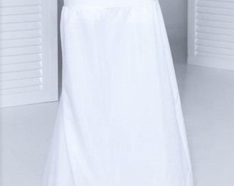 Petticoat wedding dress 1 ring