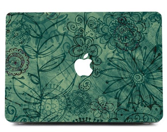 MacBook Skin, Green Style Decal, Green Style Macbook Sticker,Macbook Nature, Laptop Decal, Macbook Decal, Laptop Sticker, Macbook Sticker