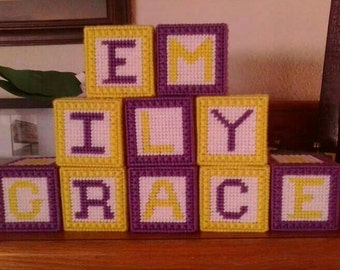 Customized Baby Blocks