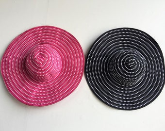 Floppy Sun Hat // Floppy Beach Hat // Colored Floppy Hat