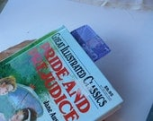 Book Lovers Gift Pride and Prejudice, Jane Austen, Mr Darcy, Literary Gift