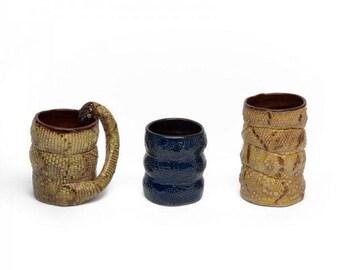 Snake Cups Ceramic Mugs