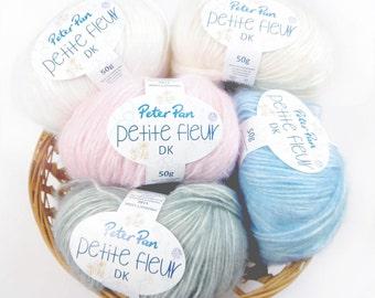 Peter Pan Petite Fleur Dk Baby Yarn - 50g