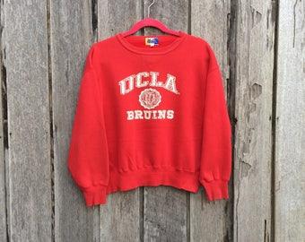 Vintage UCLA Bruins spell out big logo Sweatshirt