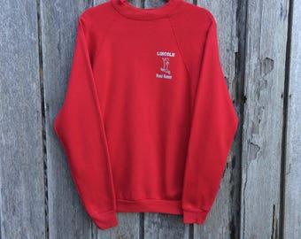 Vintage lincoln road runner sweatshirt