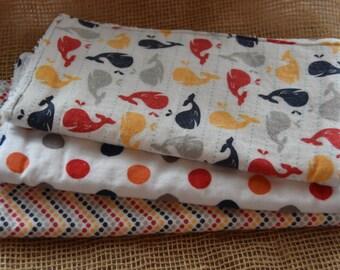 Set of Baby Burp Cloths