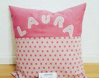 Pillow with names