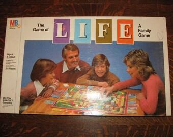 Milton Bradley Life Board Game 1979