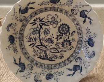 Johnson Brothers Blue Nordic Fruit / Dessert Bowl