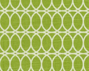 Curl up Citrine, Dark Lime Curtains