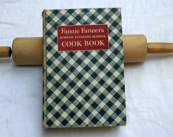 1950 Fannie Farmer Boston School of Cooking Cook Book, Eighth Edition Hard Cover