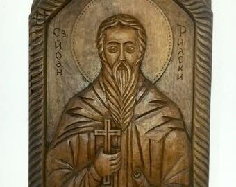"Icon ""St. Ivan Rilsky"""