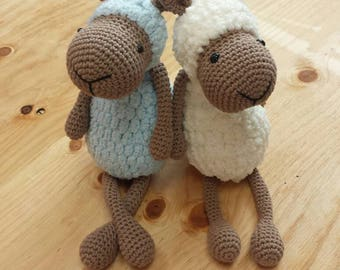 Amigurumi toy sheep, sheep amigurumi, amigurumi animal, amigurumi croche