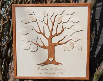 Wedding Tree Guestbook alternativ 3D