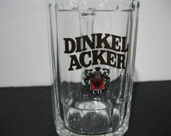 Vintage Dinkel Acker Beer Mug, Dinkel Acker Stein, Vintage Beer Mug