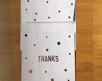 Thanks Handmade Greeting Card