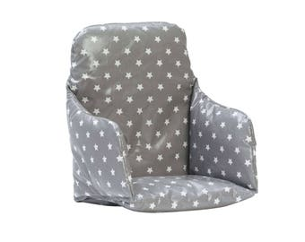 high chair cushion insert super snug supportive and wipe clean wooden high chair
