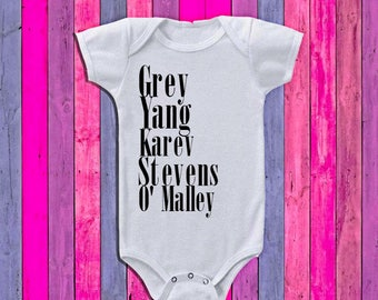 Grey's Anatomy Onesie