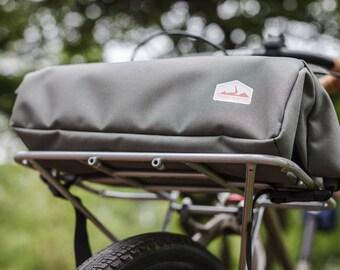 Bicycle Rack or Basket Bag - Gray