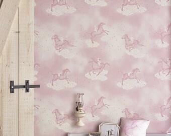 POPCORN Pink Wallpaper 10 Meter Roll